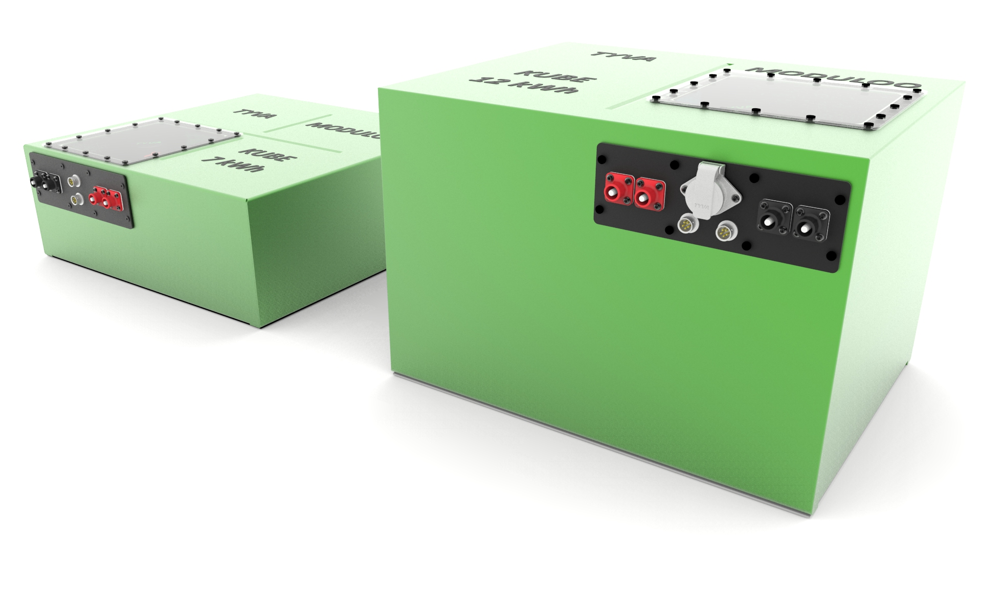 assemblage batteries lithium MODULOO Ax